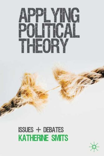 Applying Political Theory Issues and Debates  2009 edition cover