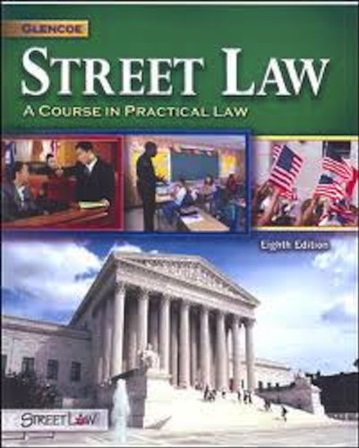 Street Law: A Course in Practical Law 5th 1994 9780314044099 Front Cover
