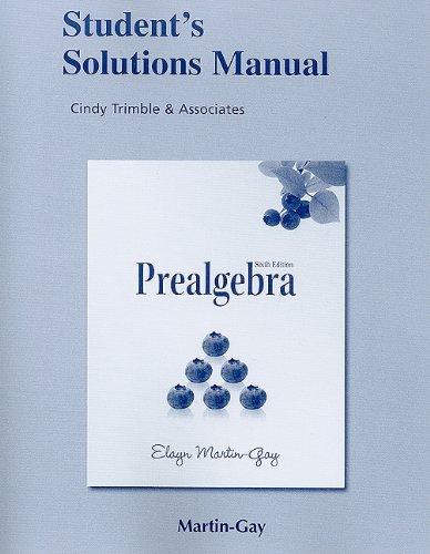 Prealgebra  6th 2011 9780321635099 Front Cover