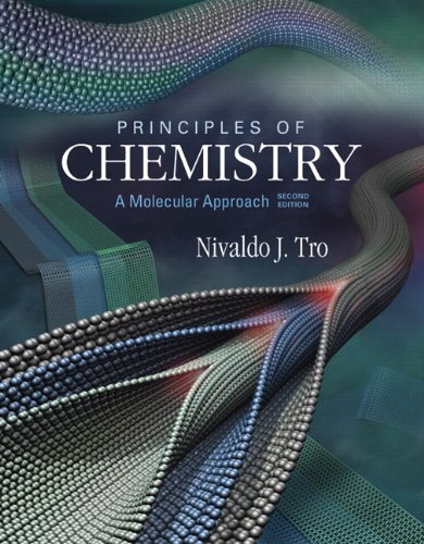Principles of Chemistry A Molecular Approach 2nd 2013 (Revised) 9780321750099 Front Cover