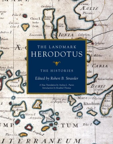 Landmark Herodotus The Histories  2007 9780375421099 Front Cover