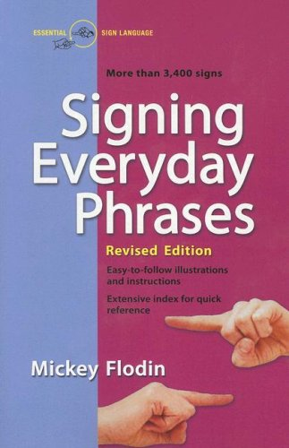 Signing Everyday Phrases  N/A edition cover