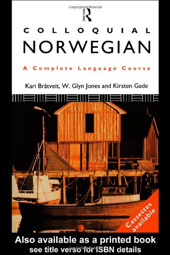 Colloquial Norwegian A Complete Language Course  1995 edition cover