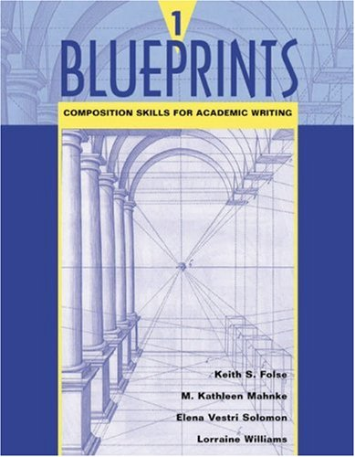 Blueprints 1 Composition Skills for Academic Writing  2003 edition cover