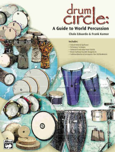 Drum Circle A Guide to World Percussion, Book and CD  2001 edition cover