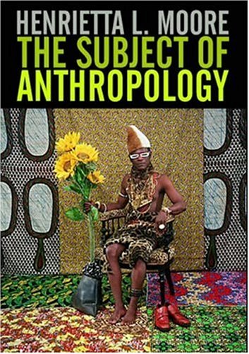 Subject of Anthropology Gender, Symbolism and Psychoanalysis  2007 9780745608099 Front Cover