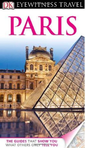 Eyewitness Travel Guides Paris   2012 edition cover