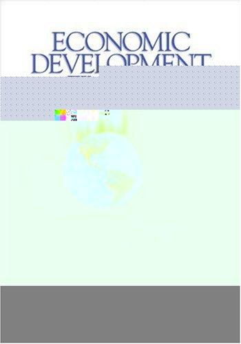 Economic Development Finance   2005 edition cover