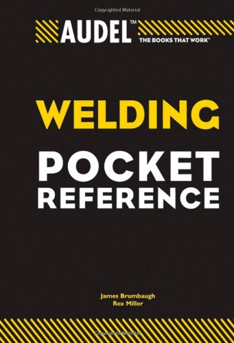Audel Welding Pocket Reference   2007 edition cover