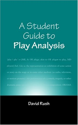 Play Analysis   2005 (Student Manual, Study Guide, etc.) edition cover