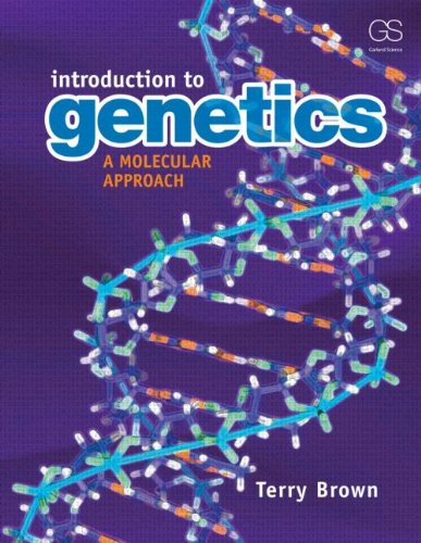 Introduction to Genetics A Molecular Approach  2012 edition cover