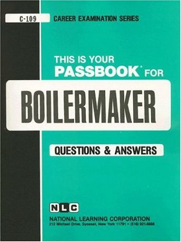 Boilermaker : Test Preparation Study Guide Questions and Answers N/A edition cover
