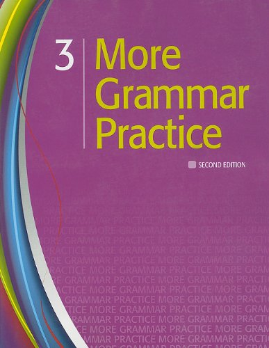 More Grammar Practice 3  2nd 2011 (Student Manual, Study Guide, etc.) edition cover