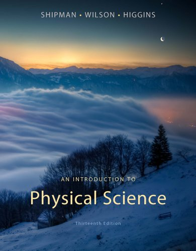 Introduction to Physical Science  13th 2013 edition cover