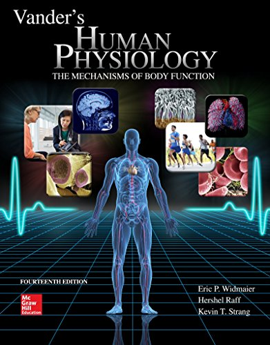 Vander's Human Physiology:  14th 2015 edition cover