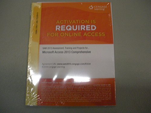 MICROSOFT ACCESS 2013:COMP.,SAM-ACCESS  N/A 9781285752099 Front Cover