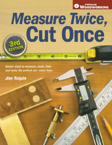Measure Twice, Cut Once Simple Steps to Measure, Scale, Draw and Make the Perfect Cut-Every Time 3rd 2007 (Revised) 9781558708099 Front Cover