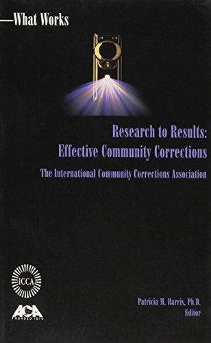 Research to Results Effective Comm. Corrections  1999 9781569911099 Front Cover