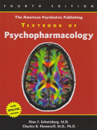 American Psychiatric Publishing Textbook of Psychopharmacology  4th 2009 (Revised) edition cover