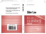 Elder Law in a Nutshell:   2014 edition cover