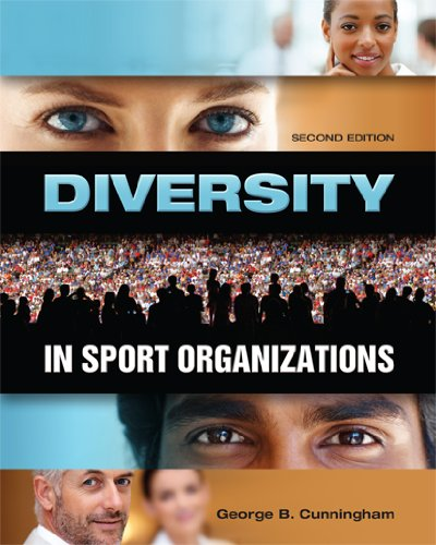 Diversity in Sport Organizations  2nd 2010 (Revised) 9781934432099 Front Cover
