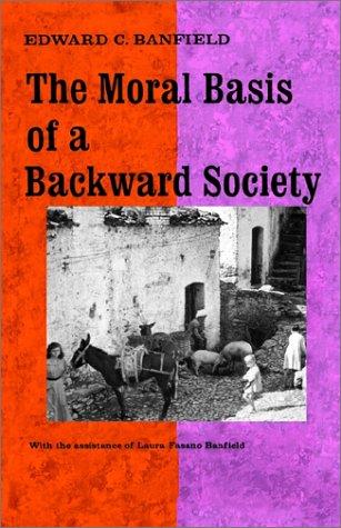 Moral Basis of a Backward Society   1967 edition cover