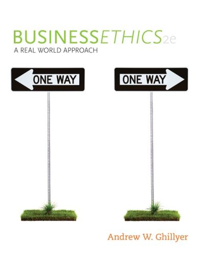 Business Ethics  2nd 2010 edition cover