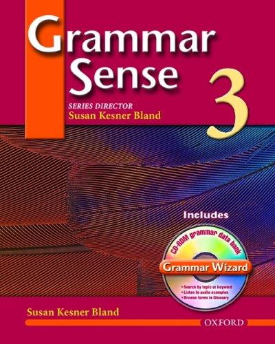 Grammar Sense  N/A 9780194397100 Front Cover