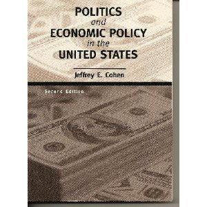 Politics and Economic Policy in the United States  2nd 2000 edition cover