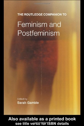 Routledge Companion to Feminism and Postfeminism  2nd 2001 (Revised) edition cover