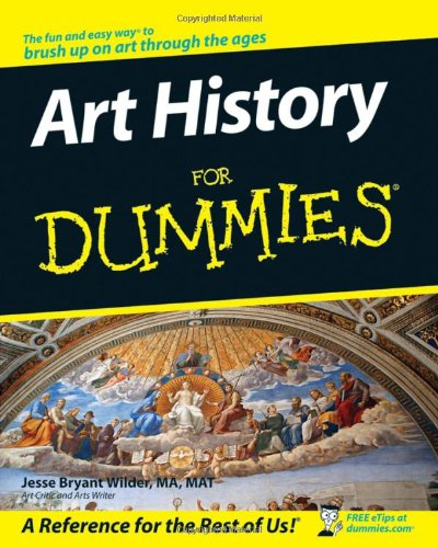 Art History for Dummies   2007 edition cover