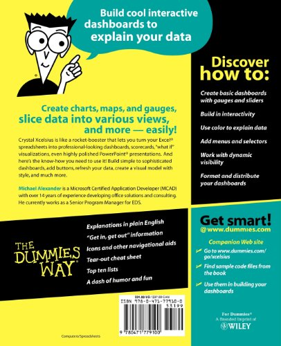 Crystal Xcelsius for Dummies   2006 9780471779100 Front Cover