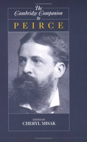 Cambridge Companion to Peirce   2004 9780521579100 Front Cover