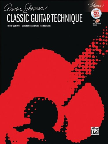 Classic Guitar Technique, Vol 1 Book and CD Revised  edition cover