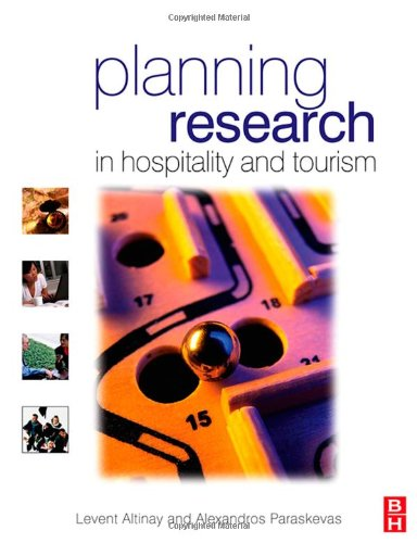 Planning Research in Hospitality and Tourism   2008 edition cover