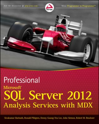 Professional Microsoft SQL Server 2012 Analysis Services with MDX and DAX  2012 edition cover