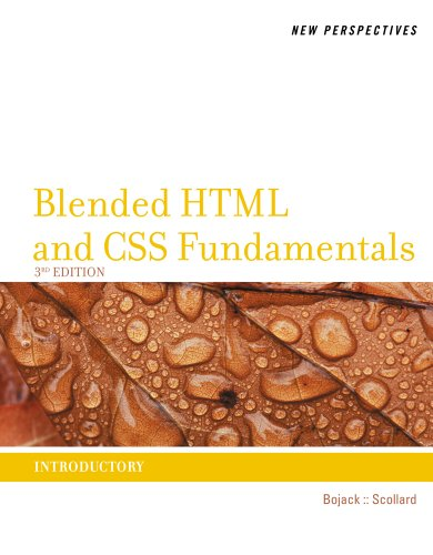 Blended HTML and CSS Fundamentals  3rd 2013 edition cover