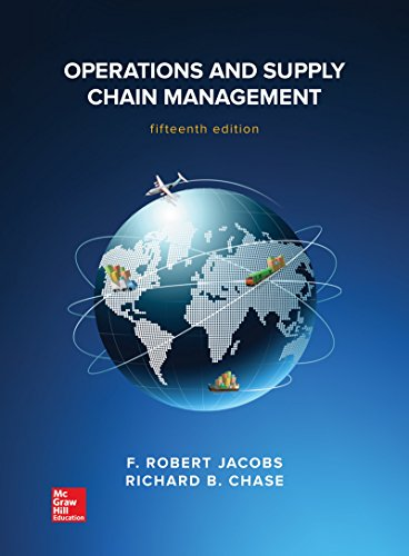 Operations and Supply Chain Management  15th 2018 9781259666100 Front Cover