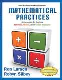 Mathematical Practices, Mathematics for Teachers   2015 9781285447100 Front Cover