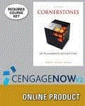 Cornerstones of Managerial Accounting + Cengagenowv2, 1 Term (6 Months) Access Card:   2015 9781305617100 Front Cover