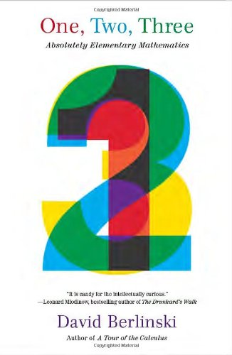 One, Two, Three Absolutely Elementary Mathematics N/A 9781400079100 Front Cover