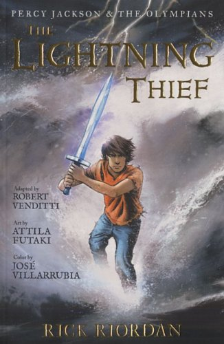 Lightning Thief   2010 edition cover