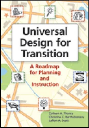 Universal Design for Transition A Roadmap for Planning and Instruction  2009 9781557669100 Front Cover