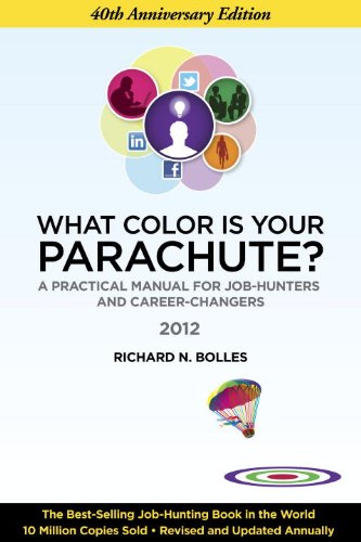What Color Is Your Parachute? 2012 A Practical Manual for Job-Hunters and Career-Changers 40th 2011 edition cover