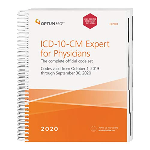 ICD-10-CM Expert for Physicians: Includes Guidelines  2019 9781622545100 Front Cover
