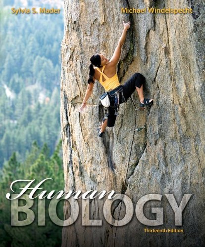 Loose Leaf Version for Human Biology  13th 2014 edition cover