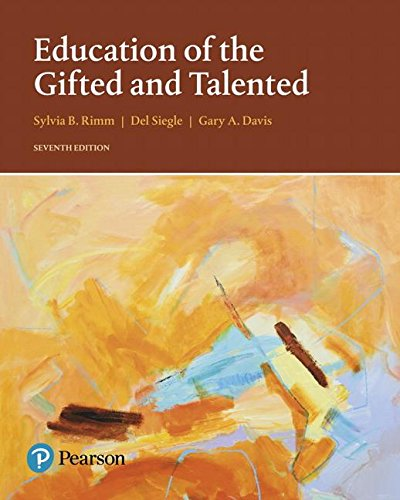 Education of the Gifted and Talented:   2017 9780133827101 Front Cover