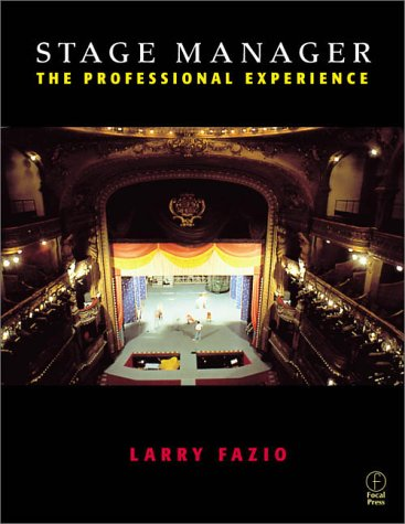 Stage Manager The Professional Experience  2000 edition cover
