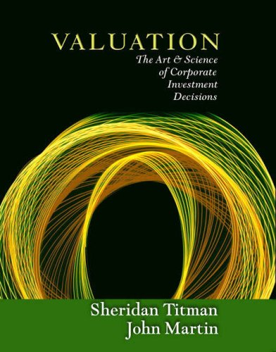 Valuation The Art and Science of Corporate Investment Decisions  2008 edition cover