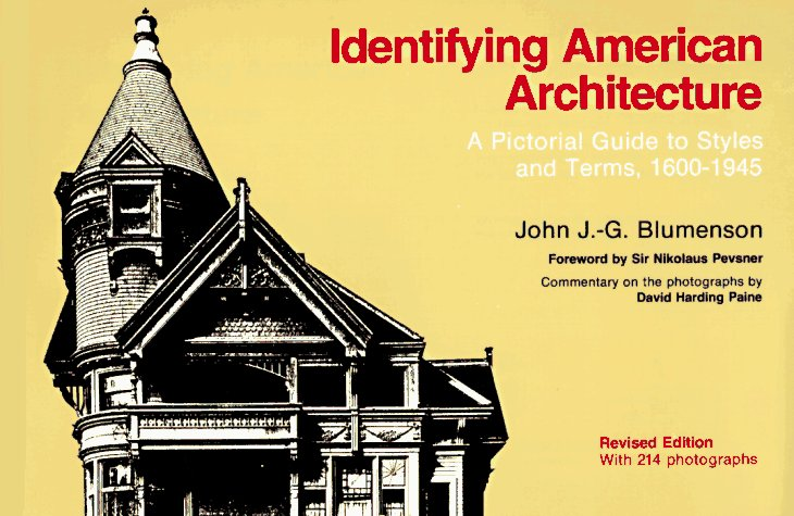 Identifying American Architecture  2nd 1989 (Revised) edition cover